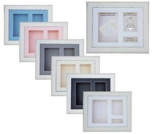 3d Deep 10x8 Rustic White Shadow Box Picture Frame Cast Medals