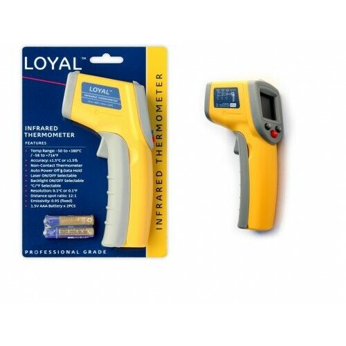 INFRARED THERMOMETER LASER LOYAL non contact surface digital temperature profess