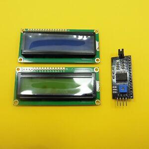 Tablero-de-modulo-1602-5-V-LCD-1602-A-16x2-Modulo-Adaptador-De-Interfaz-Serial-LCM-IIC-I2C