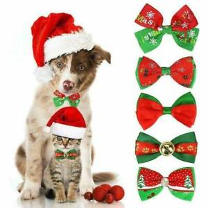 Dogs-Cat-Pet-Puppy-Cute-Bowknot-Necktie-Collar-Bow-Tie-Christmas-Party-Clothes