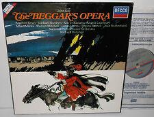 D252D 2 John Gay The Beggar's Opera Joan Sutherland NPO Richard Bonynge 2LP