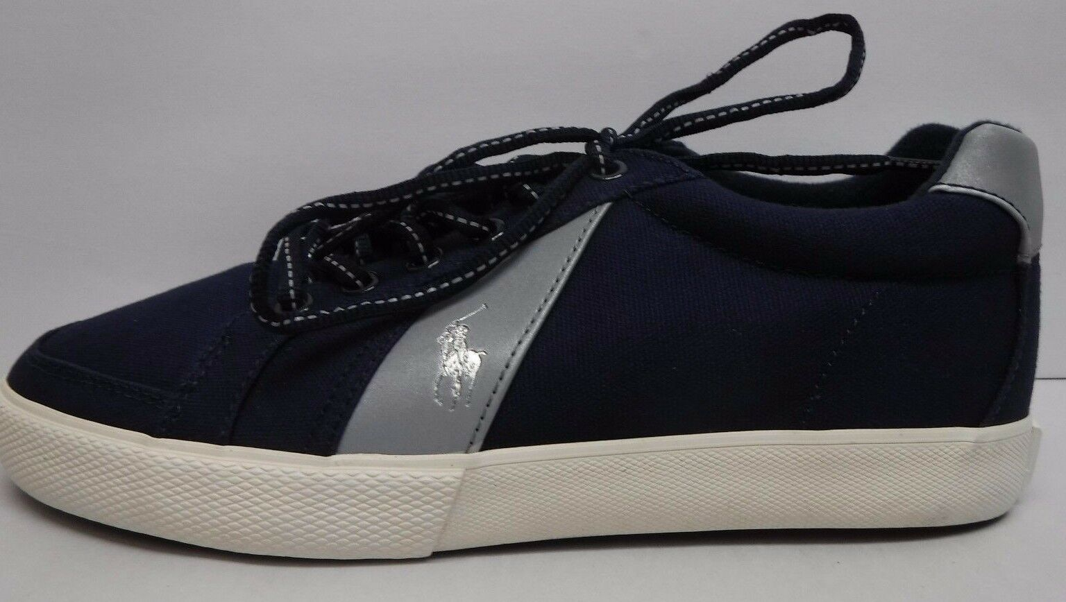 Polo Ralph Lauren Size 8.5 bluee Sneakers New Mens shoes