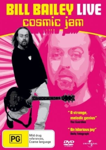 1 of 1 - BILL BAILEY LIVE COSMIC JAM * NEW SEALED REGION 4 PAL DVD *