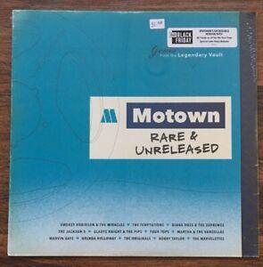 Various-Artists-Motown-Rare-amp-Unreleased-LP-Vinyl-New-Blue-Album-RSD-BF