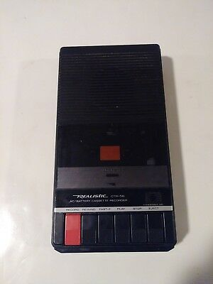 Agressief Realistic Cassette Recorder Ctr-56 Needs A Belt