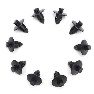 10pcs-Black-Plastic-Rivets-Trim-Clips-8mm-For-Suzuki-Bumpers-Sills-Trim-Panel