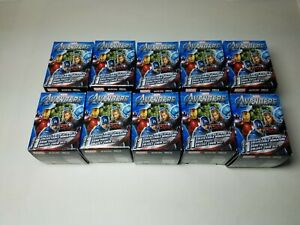 Lot-Of-10-Brand-New-Sealed-Marvel-Avengers-Heroclix-Booster-Packs-NOT-SEARCHED