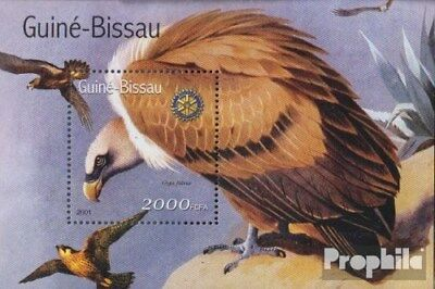 Animal Kingdom Never Hinged 2001 Birds Terrific Value Popular Brand Guinea-bissau Block324 Unmounted Mint