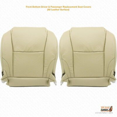 Driver Bottom Leather Seat Cover Color Light Tan Fits 2007 2008 2009 LEXUS GX470