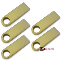 5pcs 10pcs 1GB 2GB 4GB 8GB 16GB Metal USB Flash Pen Drive Thumb Stick U Disk