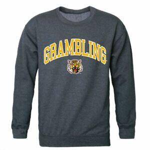 W Republic GSU Grambling State University Campus Crewneck Pullover Sweatshirt Sweater Black