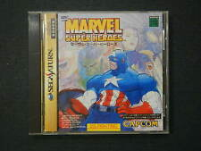 Marvel Super Heroes Sega Saturn JP GAME.