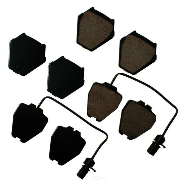 Disc Brake Pad Set-Euro Ultra Premium Ceramic Pads Front Akebono EUR1024