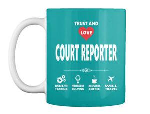On trend Court Reporter Gift Coffee Mug Gift Coffee Mug