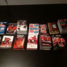 Lot of all 24 Ottawa Senators pocket schedules for sale