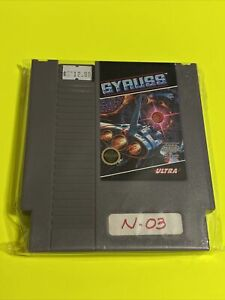 🔥100% WORKING NINTENDO NES CLASSIC Game Cartridge🔥 SUPER FUN 🔥 GYRUSS 🔥