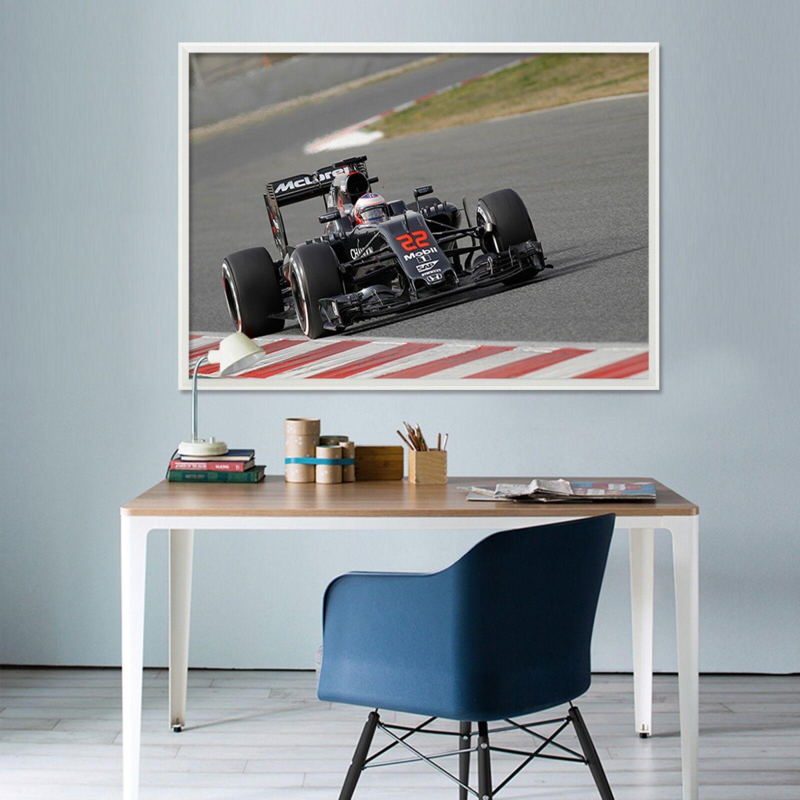 3D Racing 556 Fake Framed Poster Home Decor Drucken Painting Unique Kunst Summer