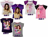 Violetta T-Shirt kurzarm Shirt 122 128 134 140 146 152 Mädchen Disney Leon