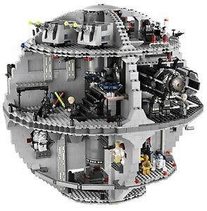 LEGO-STAR-WARS-Death-Star-10188-w-Figurines-BRAND-NEW-Sealed-Manufacture-Box