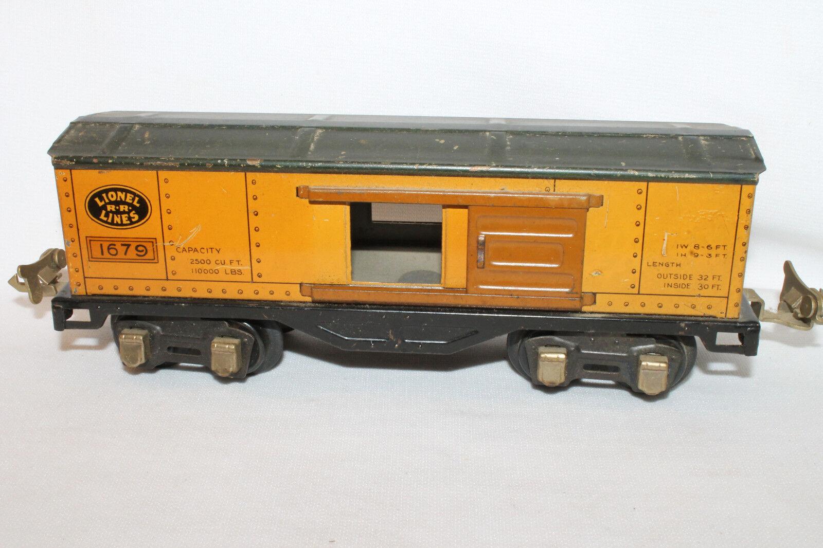 588ms Lionel 1679 Box Auto, Original