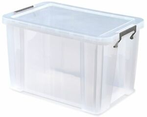 comic storage boxes solid plastic and stackable.     40 x 26 x 29 CM
