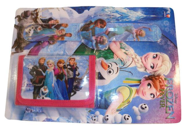 Joblot 40 Kids watch & wallet sets Frozen Hello Kitty Cars Hero 6 Spiderman etc