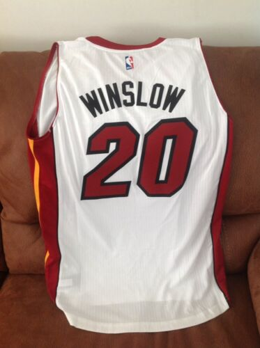 00e2f1c01 2 of 8 Adidas justise winslow  20 miami heat nba jersey NWT size 3XL Lenght  +2 mens