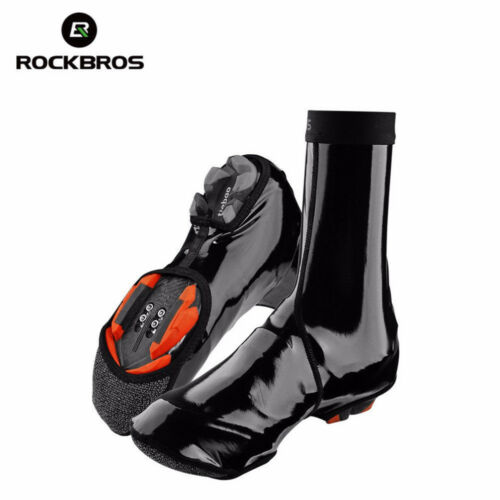 RockBros Winter Cycling Shoe Covers Waterproof Warm Protector Overshoes