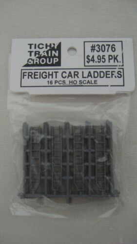 Tichy Train Group 3076 HO Scale Freight Car Ladders 16 Pieces
