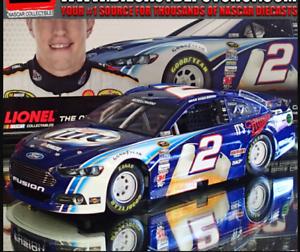 BRAD KESELOWSKI 2013 MILLER LIGHT 1 24 SCALE  ACTION NASCAR DIECAST