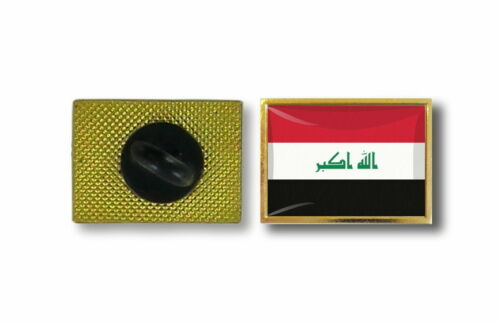 pins pin/'s flag national badge metal lapel backpack hat button vest irak iraq