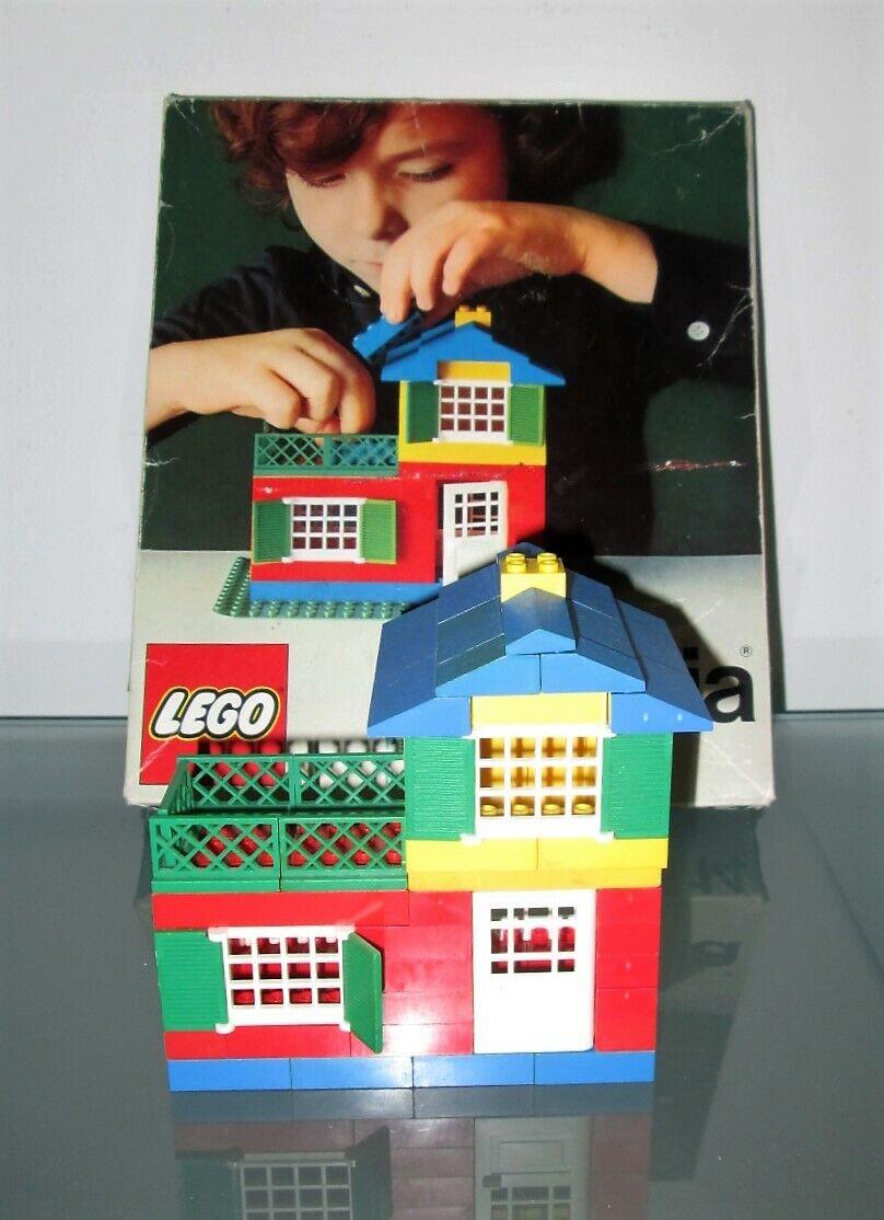 LEGO MINITALIA 14 Small House Set  con scatola vintage 1973
