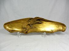 Albert Marionnet 1852 - 1910 Jugendstil Bronze Siftablage Art Nouveau pen tray