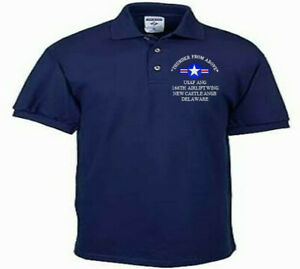 166TH-AIRLIFT-WING-NEW-CASTLE-DE-USAF-ANG-EMBROIDERED-LIGHTWEIGHT-POLO-SHIRT