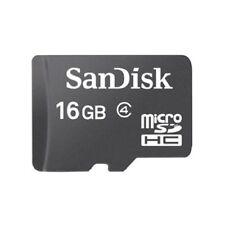 Sandisk 16GB Micro SDHC SD Memory Card Class 4