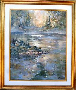 back country afternoon doug oliver landscape painting acrylic