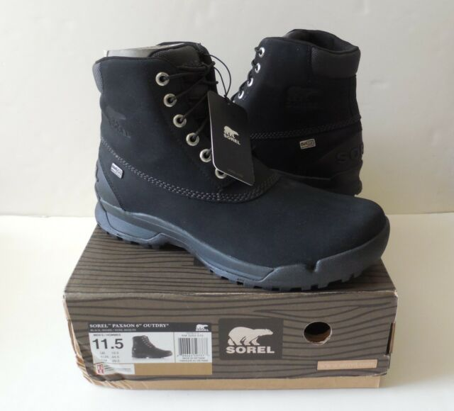 e9742be1fc7 Sorel Sorel Paxson 6 in Outdry Mens BOOTS 1627561010 11.5
