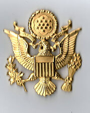 US ARMY OFFICERS CAP BADGE