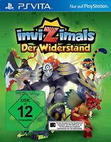 Playstation Vita Spiel: Invizimals Der Widerstand Neu & OVP