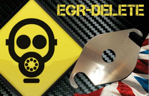Suppression EGR sur plaque FORD 2.0 16V TDCi Focus C-max-S Galaxy Kuga Mondeo avec trou !