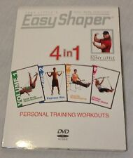 NEW Tony Little's Easy Shaper 4 in 1 personal training exercise workouts DVD