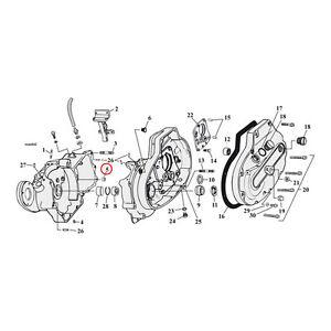 MCS-HARLEY-DAVIDSON-Levier-de-vitesses-CARDAN-Bague-pour-77-05-XL-OEM-40520-63