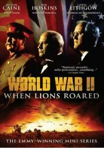 World-War-II-When-Lions-Roared-The-Emmy-Winning-Mini-Series-DVD-GOOD