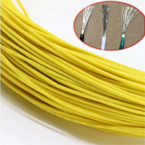 Yellow Equipment Wire DIY Electrical Wire Flexible Cable UL1007 16//18//20~30AWG