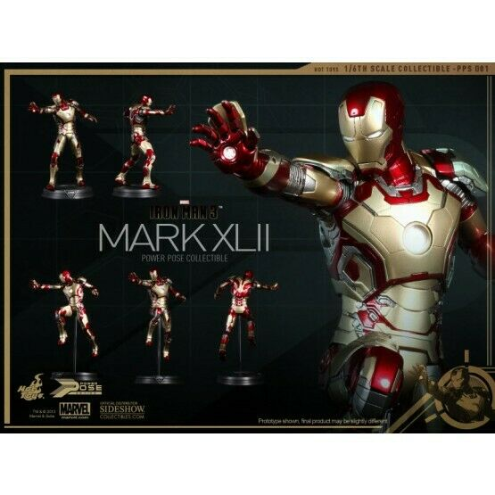 Hot Toys Iron man Mk 42 power pose 1 6th figure 902017