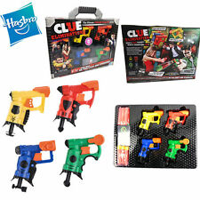 Hasbro Nerf Blaster Mini Gun Clue Elimination Game CHILD KID SHOOTING SET TOY