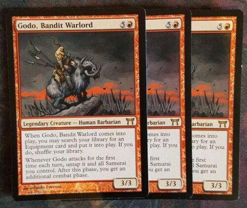 bandit warlord x 1 great condition Mtg godo