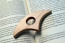 Thumb Page Bookholder - Maple wood Book Holder Thumb Thing  **Stocking Stuffer**