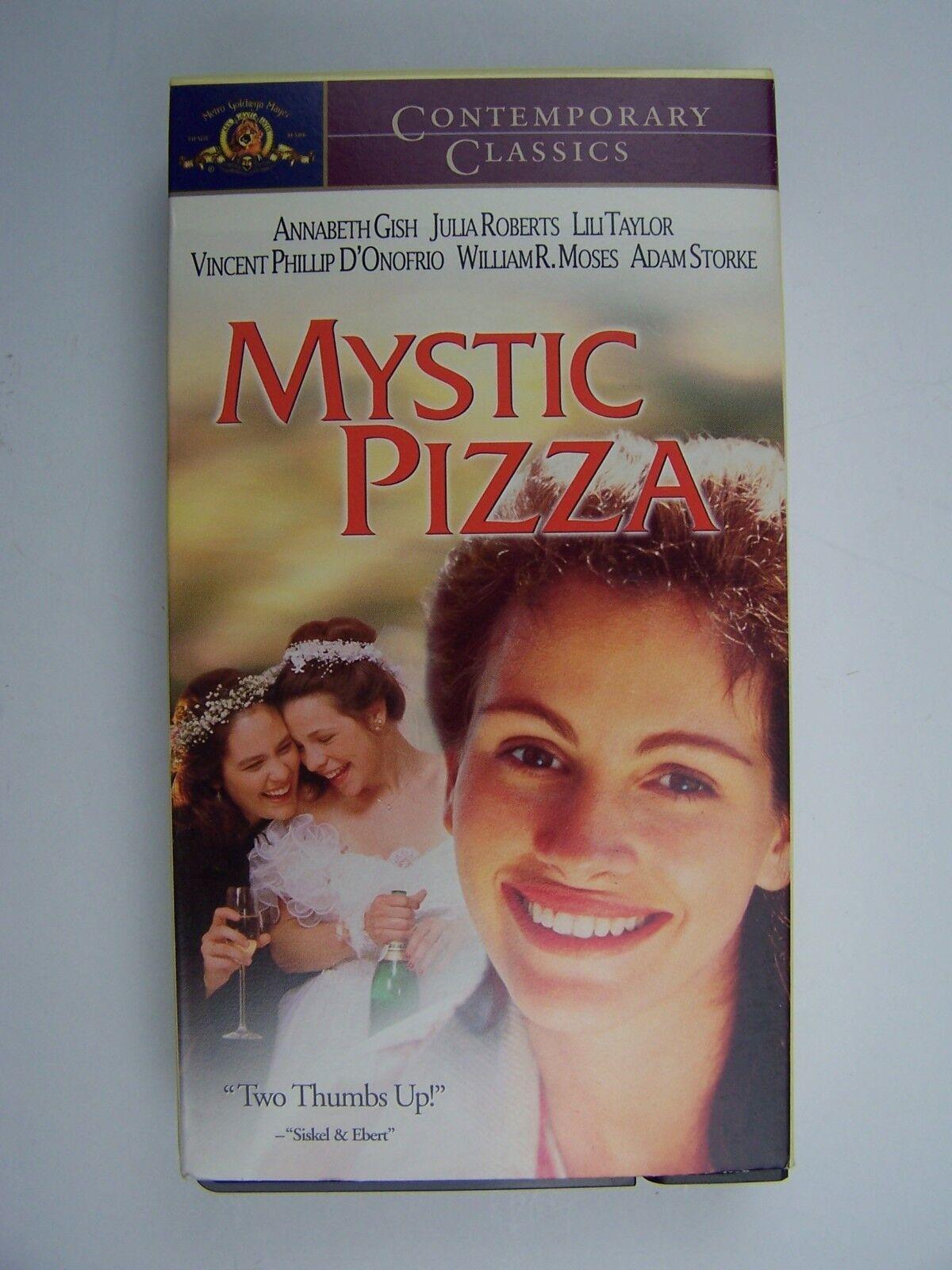Mystic Pizza VHS Video Tape Julia Roberts 27616857569