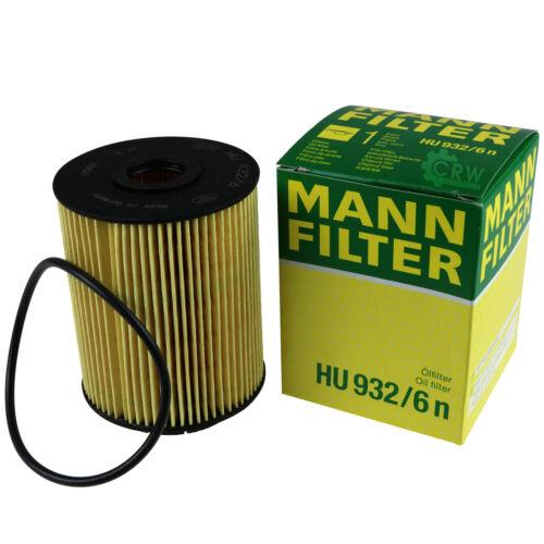 Original MANN-FILTER Ölfilter Oelfilter HU 932//6 n Oil Filter